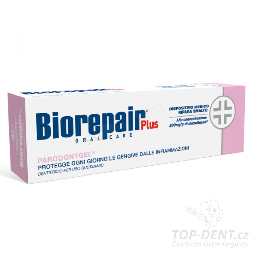 BioRepair Plus Parodontgel zubní pasta, 75ml