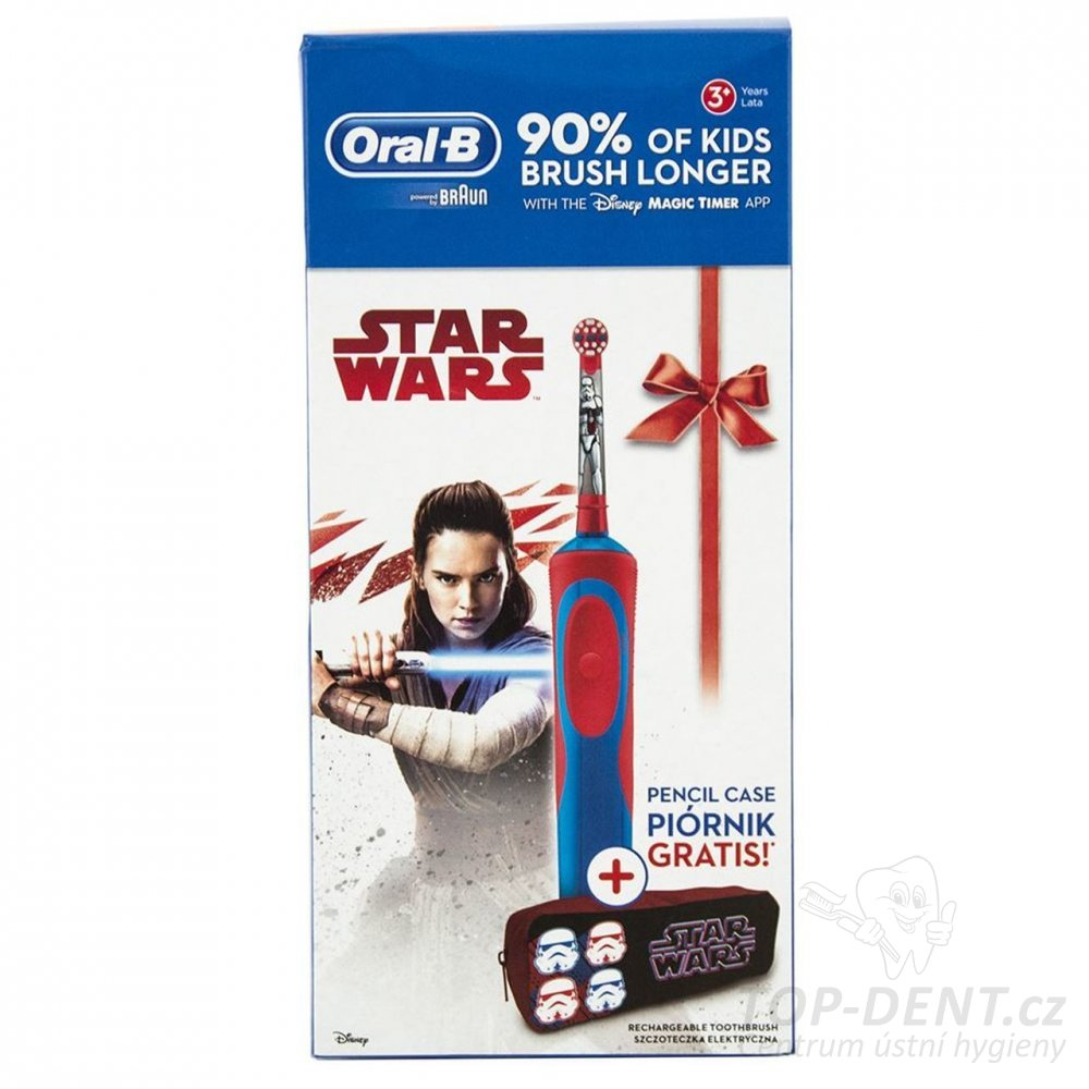 Braun Oral-B Stages Power Kids STAR WARS + PENÁL