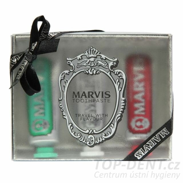 Marvis box Strong & Whitening & Cinnamon, 3x25ml