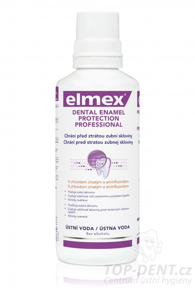 Elmex Enamel Protection Professional ústní voda, 400ml