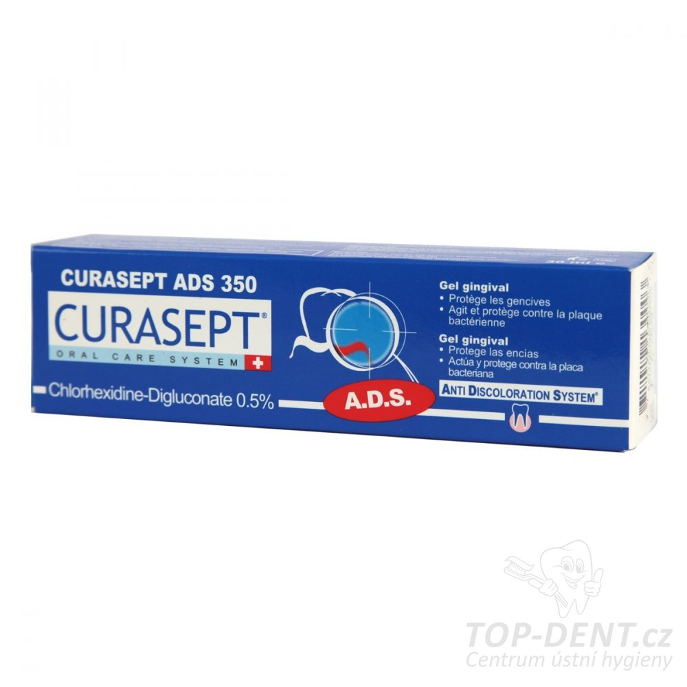 Curasept ADS 350 parodontální gel, 30ml